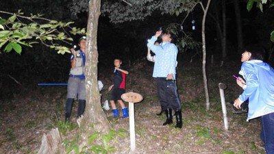 夜の森 探検ツアー in 匠の聚