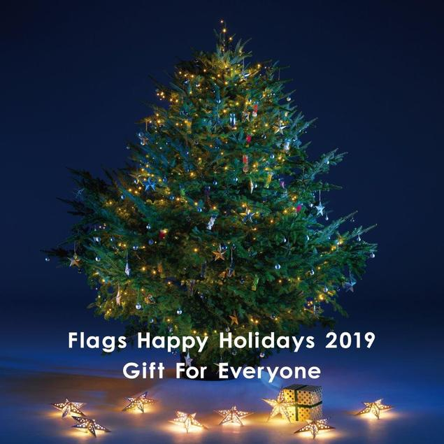 【2020年度開催なし】Flags Happy Holidays 2019 Gift For Everyone
