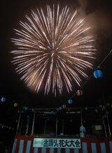 盆踊りと河和学区花火大会