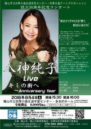八神純子Live キミの街へ ~Anniversary Year