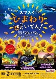 スマスイ夏の祭典「スマスイにひまわり咲いてん!」