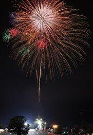 【2020年中止】さざ波フェスタ2020 海上花火大会