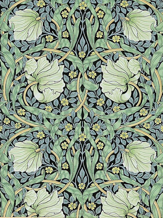 サンダーソンアーカイブ ウィリアム・モリスと英国の壁紙展 ~美しい生活をもとめて~