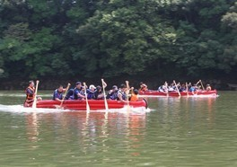 第23回小野湖交流ボート大会