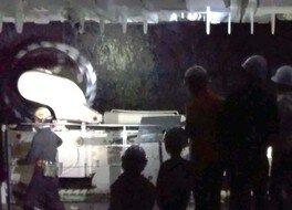 夜の科学館 ダイナミックトンネル「真っ暗体験」