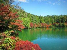【紅葉・見ごろ】伊奈ヶ湖