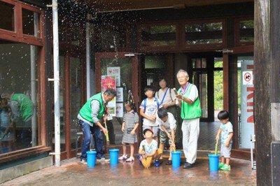 竹の水てっぽうづくり