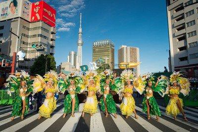 【2020年開催なし】第38回浅草サンバカーニバルパレードコンテスト
