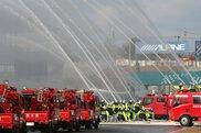 鈴鹿市消防出初式