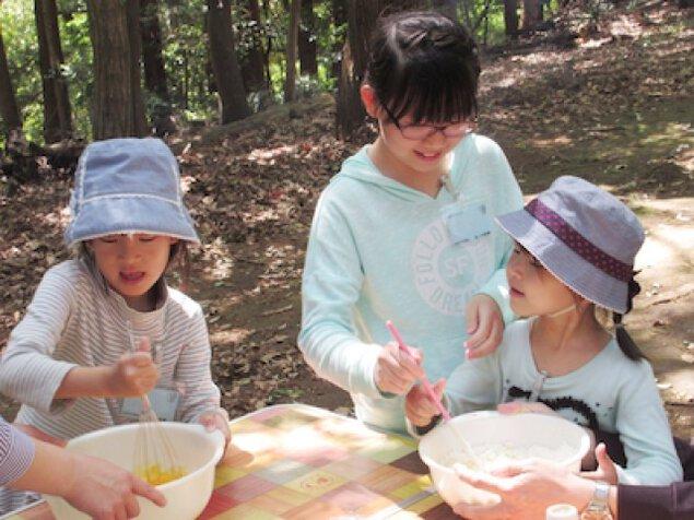 おいしい手作りバウムクーヘン わくわく親子スイーツキャンプ