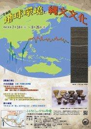 企画展「地球環境と縄文文化」