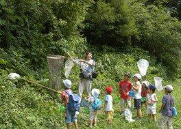 夏休み昆虫教室