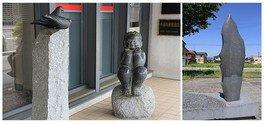 十日町石彫プロムナードの作家たち2018 同時開催:日本刀の変遷2 新刀・新々刀編
