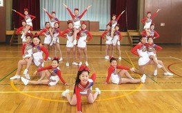 Cheerleading Show on 氷川丸