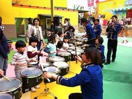 あそびの学校 音で遊ぼう~ドラムライン(打楽器)を体験しよう~