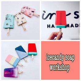 アイスキャンディーソープ手作り体験@大阪の石けん教室16soap
