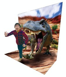 企画展「恐竜3Dワールド」
