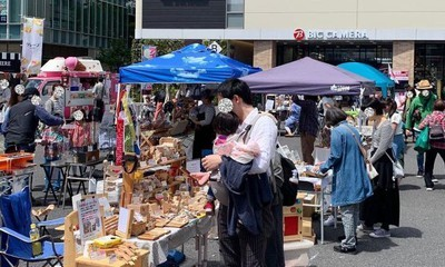 マママルシェin調布駅前広場(6月)