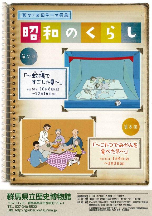 昭和のくらし 第7回「~蚊帳ですごした夏~」