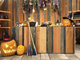 京都駅ビルハロウィン ~魔女とおおきなかぼちゃ~ フォトスポット「魔女の家」