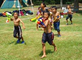 はじめてのテント泊キャンプ 都内キャンプ場で夏休みを遊びまくろう!