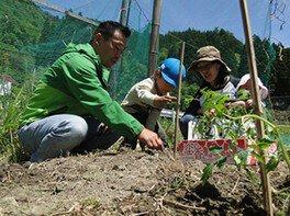 Oisakoキッズ農園にハーブの苗を植えよう!