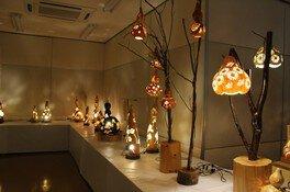 茨城県植物園 ひょうたんランプ展