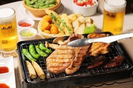 横浜マリンタワー・THE BUND肉食べ放題BBQビアガーデン