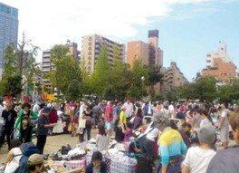 錦糸町「錦糸公園」フリーマーケット(7月)