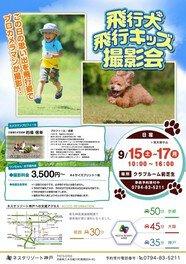 飛行犬・キッズ 撮影会