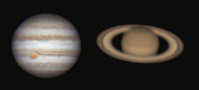 木星・土星と夏の天体観望会