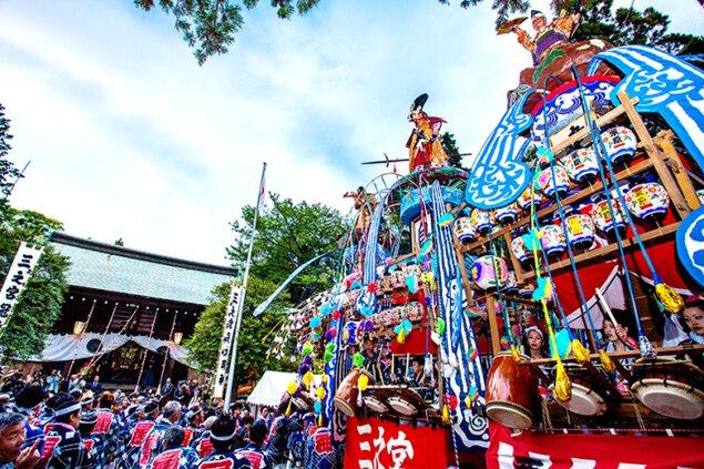 三之宮比々多神社春季例大祭