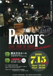 THE PARROTS LIVE 2018 IN SHOO
