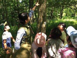 森林・樹木体験イベント~植物の香りを利用した 虫除けスプレーづくり~