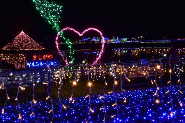 貴志川イルミネーション2019【2021年度中止】 平池緑地公園