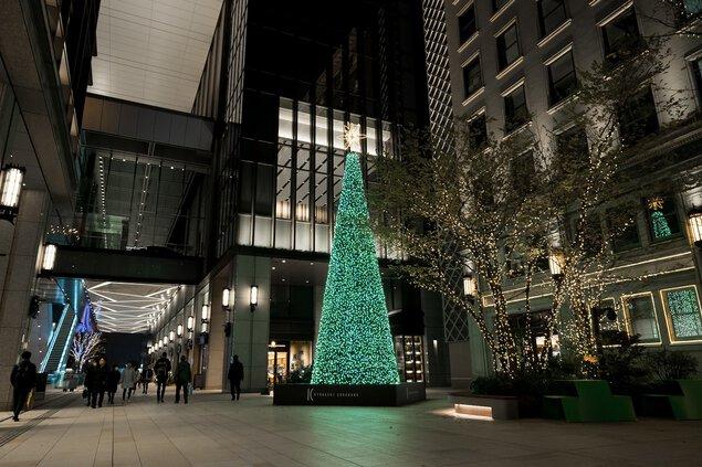 京橋エドグラン クリスマスイルミネーション2020 京橋エドグラン