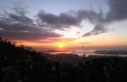 ハーブ園から初日の出を見よう!
