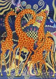アフリカン現代アート ティンガティンガ原画展(大丸福岡天神店)