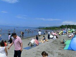 【海水浴】有珠海水浴場