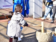 新春イベント(お年玉プレゼント・もちつき大会)