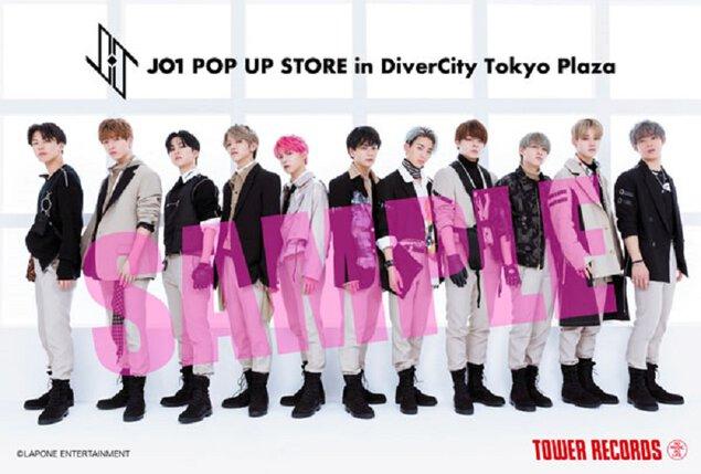JO1 POP UP STORE in DiverCity Tokyo Plaza