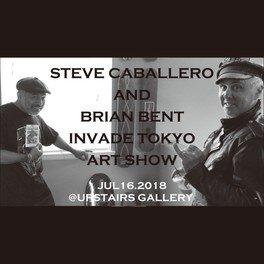 STEVE CABALLERO AND BRIAN BENT TOKYO ART SHOW