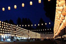 田村神社 万灯祭