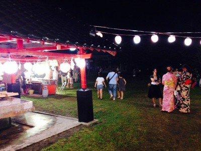 鹿児島神社六月灯
