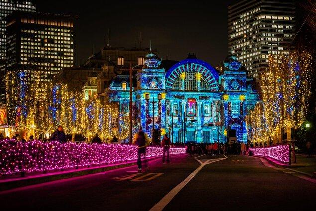 【2020年度開催なし】OSAKA光のルネサンス2019 フランスアベニュー