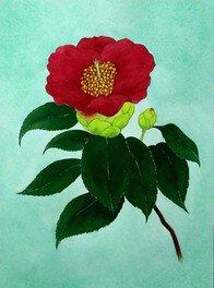 日本画・水干(すいひ)絵の具を作って和紙に描いてみよう!