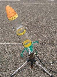 ペットボトルロケットを作って飛ばそう!