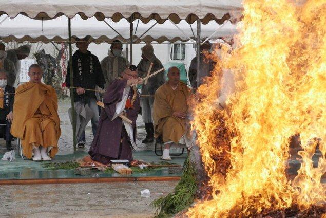 大福田寺 桑名聖天大祭(火渡り)