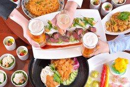 中国料理「鴻臚」スパークリング&ビアホールプラン