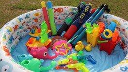 キトラde水遊び